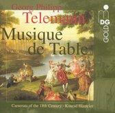 Telemann: Musique de Table / Hunteler, Camerata of 18th Cent