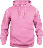 Basic hoody helder roze xxl
