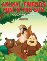 Animal Friends Fun in the Sun Coloring Book