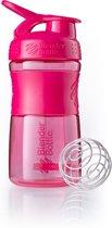 BlenderBottle SportMixer Tritan Grip - Eiwitshaker / Bidon - 590ml - Pink