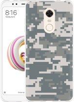 Xiaomi Redmi 5 Plus Hoesje Army Digi Camouflage