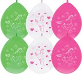 Ballonnen Paarden, 6st.