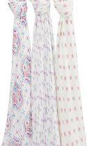 aden + Anais Bamboo Swaddle 3-pack Flower Child