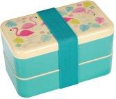 Rex London Bento Box XL Flamingo