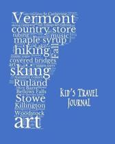 Vermont Kid's Travel Journal