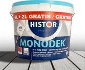 Histor-Muurverf-Monodek-Ral 9010-10 liter