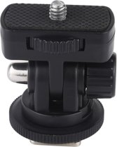 PULUZ 1/4 inch schroefdraad koude schoen statief bevestiging adapter