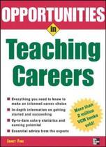 Opportunities in Teaching Careers