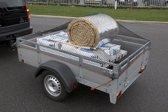 Crossafe  200 x 350 afdeknet, trailernet ZWART