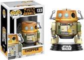 Funko Pop! Star Wars: Rebels Chopper Volwassenen En Kinderen - Verzamelfiguur