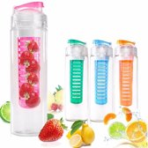 Waterfles met Fruit Filter Infuser 800 ML
