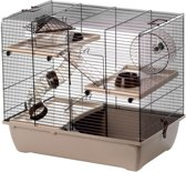 Interzoo hamsterkooi pinky3 mocca