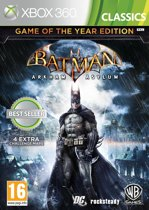 Batman: Arkham Asylum - Game of the Year Edition - Xbox 360