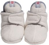 Lodger babyslofjes fleece Off White Maat: 3-6 mnd (10 cm)