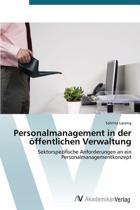 Personalmanagement in Der Offentlichen Verwaltung