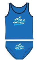 Smurfen 6/8 jr ondergoed set jongens blauw