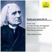 Liszt: Grandes Etudes De Paganini, 3 Etudes