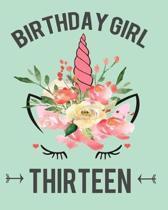 Birthday Girl Thirteen
