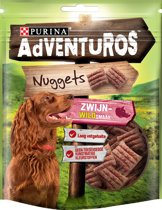 AdVENTuROS Nuggets - Zwijn - Hondensnacks - 6 x 90 g