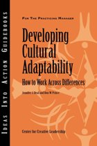 Developing Cultural Adaptability