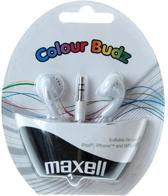 Maxell Colour Budz stereo wit