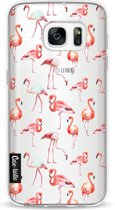 Casetastic Softcover Samsung Galaxy S7 - Flamingo Party