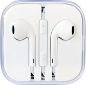 2x In-ear Oortjes - Oordopjes - Headset - voor Apple iPhone, iPod en iPad