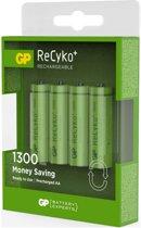 GP Recyko+ AA Oplaadbare Batterijen 1300mAh - 4 stuks