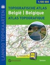 Topografische Wegenatlas Belgie = Atlas Routier Topographique Belgique