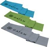 Gaiam Restore Strength & Flexibiliteit - Yoga Kit - blauw - groen - grijs