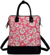 Miss lulu daisy backpack shoulder bag (l1523ds rd)