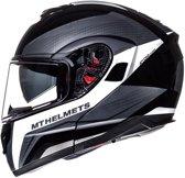 Helm MT Atom Tarmac SV zwart/wit M