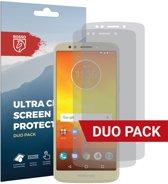 Rosso Motorola Moto E5 Ultra Clear Screen Protector Duo Pack