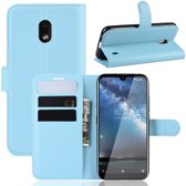 Nokia 2.2 Hoesje - Book Case - Lichtblauw