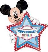 Micky Mouse Beschrijfbare Folieballon