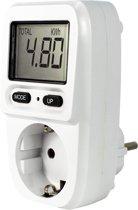 EcoSavers Energiemeter Mini Nederlands stopcontact (niet voor België) - Energieverbruiksmeter - Elektriciteitsmeter Compact