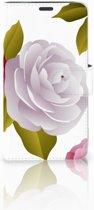 Motorola Moto G5 Uniek Boekhoesje Roses