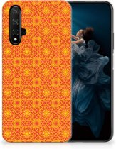Honor 20 TPU bumper Batik Orange
