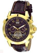 Calvaneo 1583 Calvaneo Astonia Luxury Violet Star Gold - Horloge - 46 mm - Automatisch uurwerk