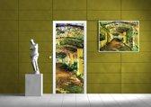 Green | Yellow Photomural, wallcovering