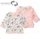 Zero2Three Vestje Reversible icecream/pink Zero 2 Three -  Maat  68