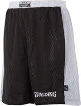 Spalding Essential Reversible  Basketbalbroek - Maat S  - Mannen - zwart/wit