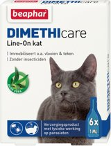 Beaphar DIMETHIcare Line On Kat - 6 Pipetten