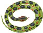 Rubberen speelgoed anaconda slang 117 cm - speelgoed dieren nepslangen