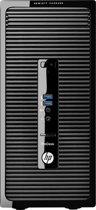 HP ProDesk 400 G2 MT  i5-4590S  4GB  500GB 7200  Win7 Pro 64 preload & Win10 Pro 64 on DVD  DVDRW  2y onsite warranty  high efficiency power supply  USB keyboar