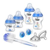 Tommee Tippee - Closer to Nature flessen starterset boy - blauw