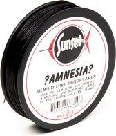 Midnight Moon Amnesia Lijn - Onderlijnmateriaal - 3.6 kg - Zwart