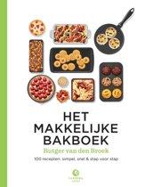 Boek cover Het makkelijke bakboek van Rutger van den Broek (Hardcover)