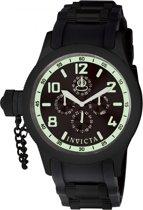 Invicta Russian Diver 1805 - Horloge - Heren - Zwart - Quartz - Ø 48,5 mm
