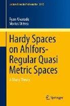 Hardy Spaces on Ahlfors-Regular Quasi Metric Spaces
